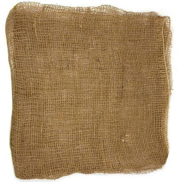 Jute fabric for root protection 0.5x0.5m 10 pieces