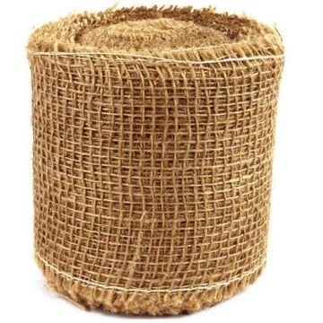 Roll of Jute fabric, for protection, decoration 15cmx25m