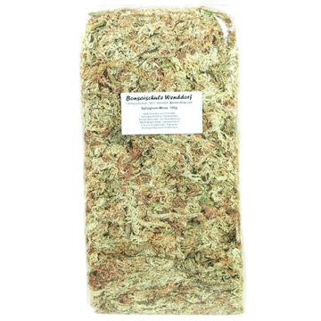 Sphagnum moss for bonsai, reptiles, orchids, 150g