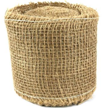Roll of Jute fabric, for protection, decoration 10cmx25m